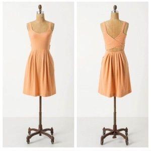 POSTMARK | Anthro Coral Rolo Crossback Mini Dress